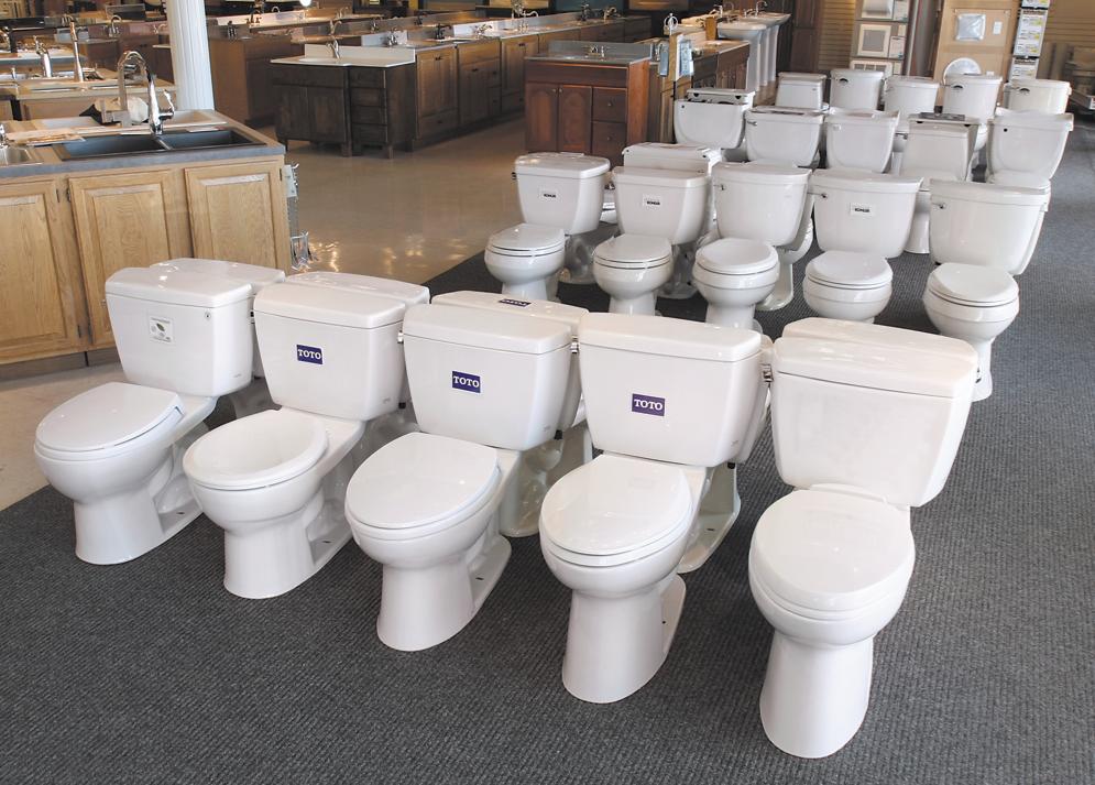 Toilets aka Rental Properties