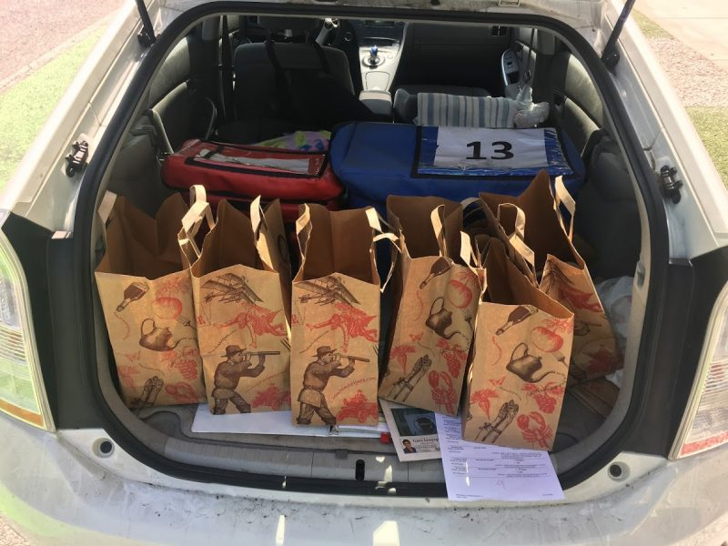 Meals on Wheels volunteering
