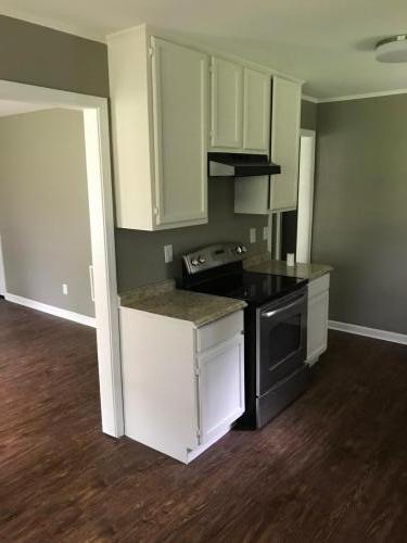 Finished in White cabinets